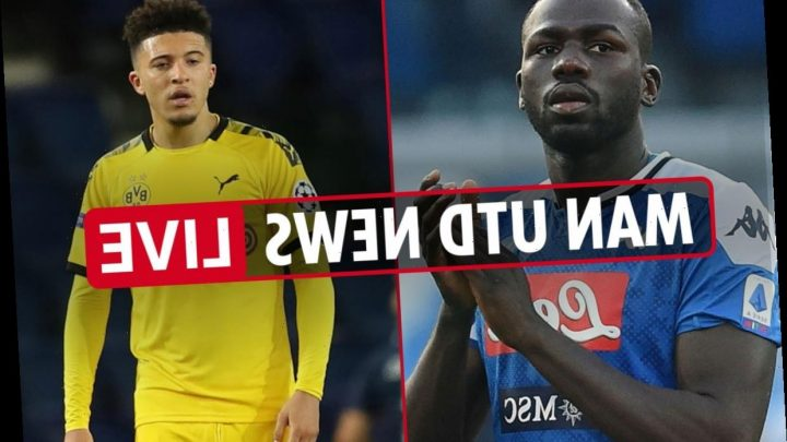 12pm Man Utd news LIVE: Koulibaly transfer blow, £100m Sancho LATEST, Gomes contract UPDATE, McTominay pens NEW deal – The Sun