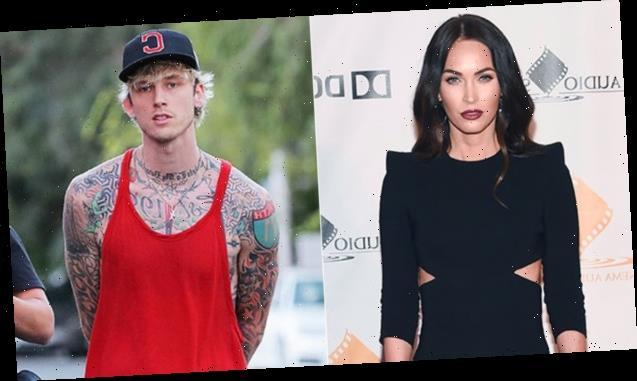 Megan Fox & Machine Gun Kelly Get Matching 'Bloody Valentine' Manicures As Romance Heats Up