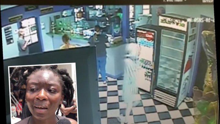 Murdered Black Lives Matter protester Oluwatoyin Salau, 19, is seen alive for last time on dessert store security video – The Sun