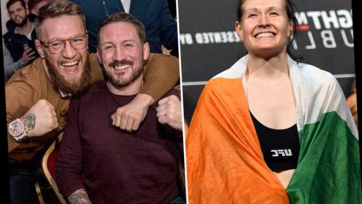 UFC champion Conor McGregor's coach John Kavanagh on early training bust-up: 'I beat the s**t out of him'