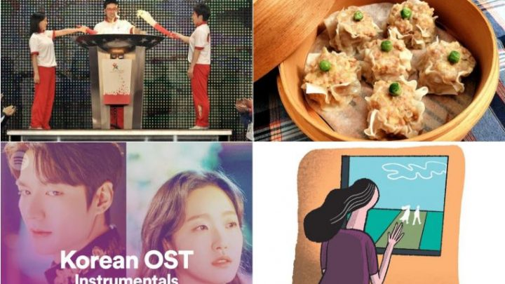 #Stayhome guide for Monday: Look back on Asian Youth Games, make Japanese-style shumai and more