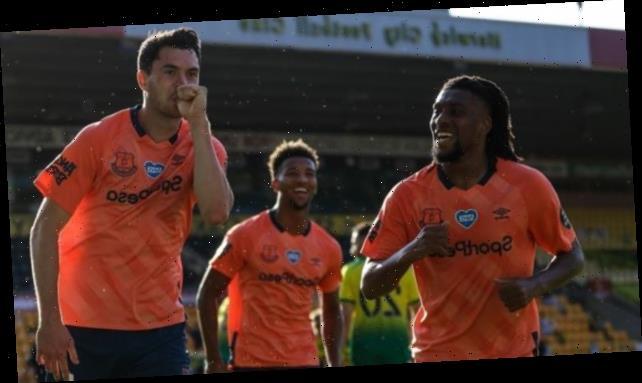 Norwich 0-1 Everton: Michael Keane scores winner for Toffees
