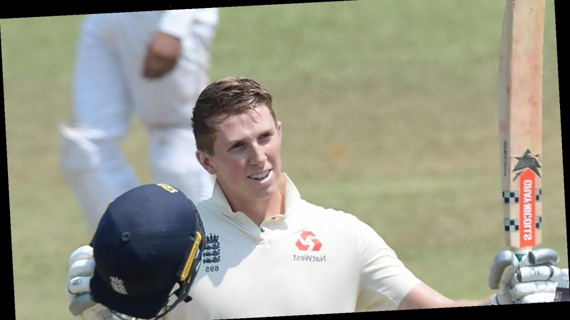 Zak Crawley eager to stake England claim ahead of Test series against West Indies