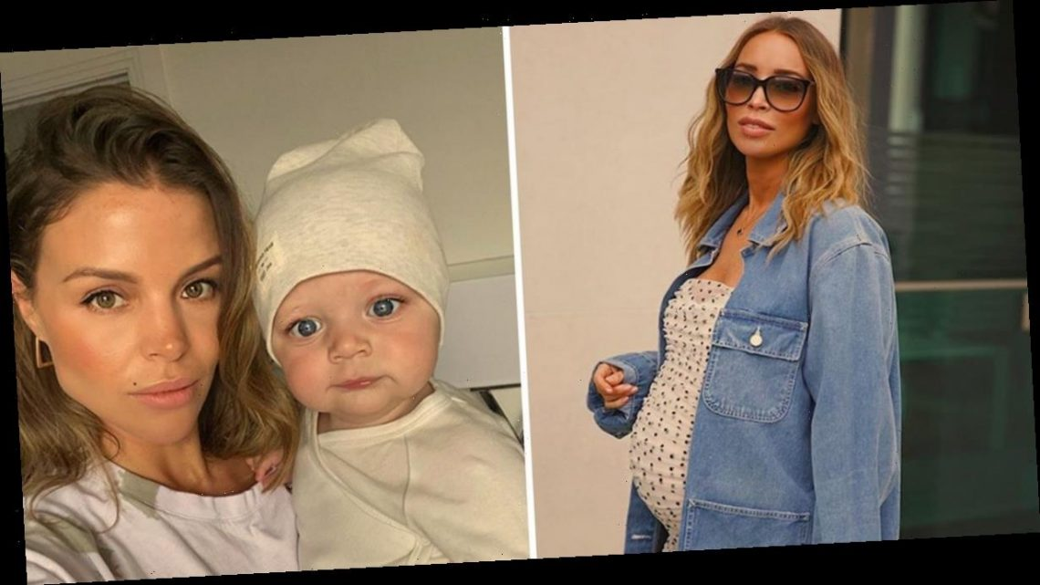 Pregnant Lauren Pope given advice by TOWIE co-star Chloe Lewis as she's 'struggling with the unknown'
