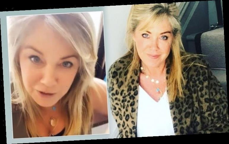 Lucy Alexander 'in isolation' at hospital with daughter as she awaits important result