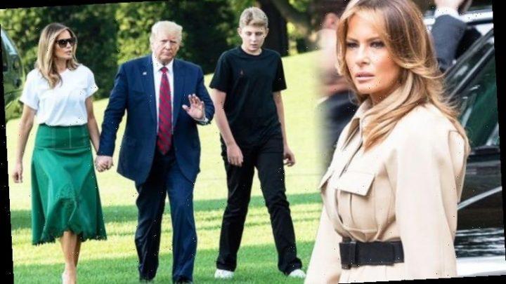 Melania Trump body language shows she is 'guiding influence' for Barron