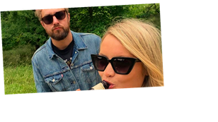 Laura Whitmore and Iain Stirling celebrate three year anniversary with loved-up snaps