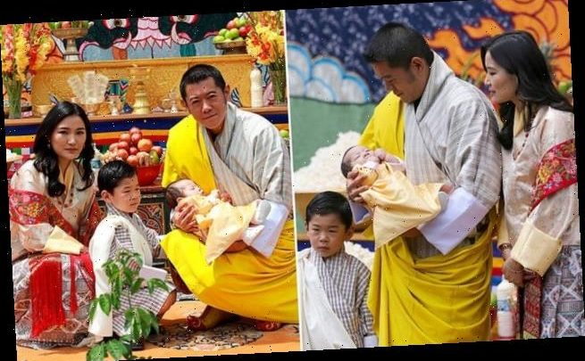 Baby Ugyen! King Jigme and Queen Jetsun of Bhutan reveal name of son