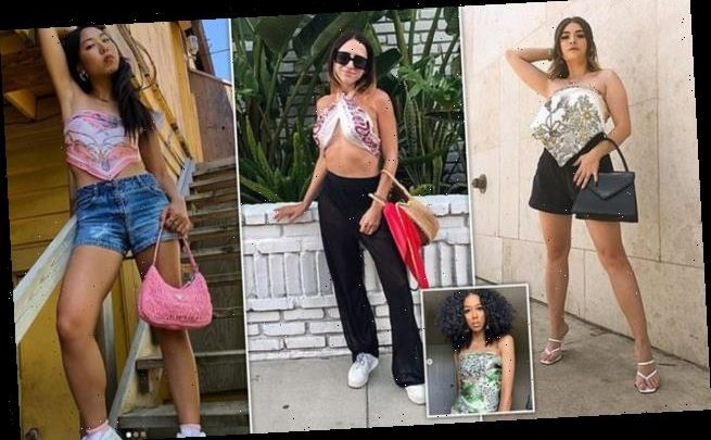 Style bloggers transform scarves into tops in latest Instagram trend
