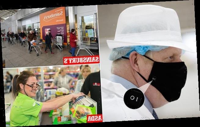 Sainsbury's and Asda say they WON'T enforce facemasks rules