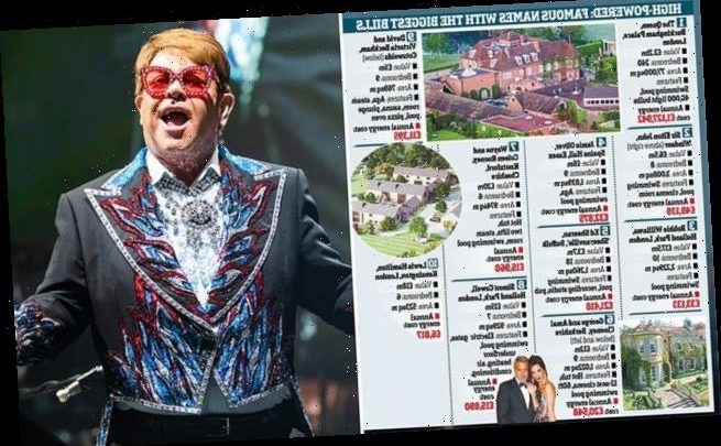 Elton John's electricity and gas bill rockets to £49,000