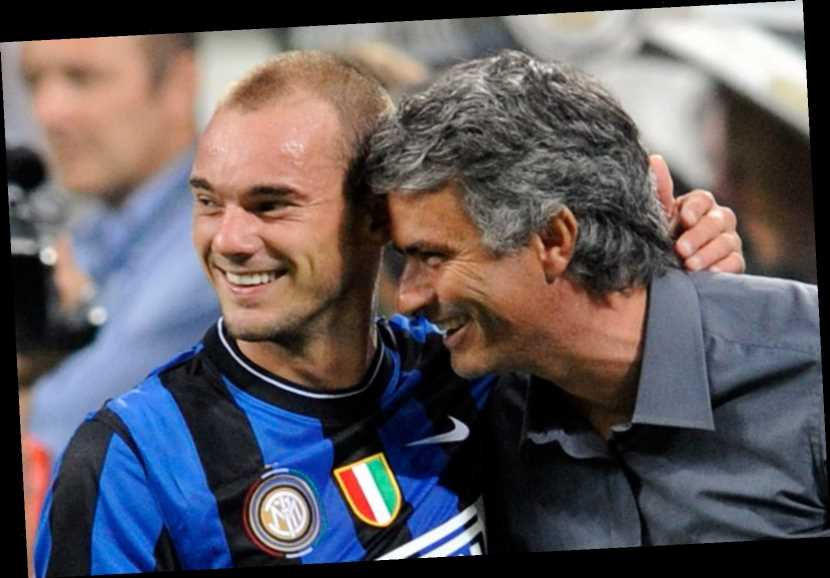 Jose Mourinho 'made his own laws and players loved it', says famous party-boy Wesley Sneijder