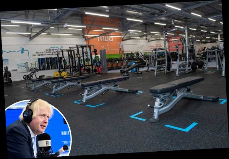 Gyms to reopen in 'a couple of weeks' after coronavirus lockdown, Boris Johnson confirms