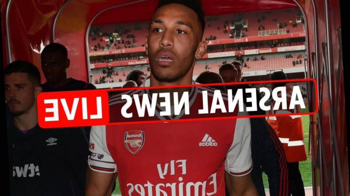 10pm Arsenal transfer news LIVE: Aubameyang contract LATEST, Thomas Partey updates, Wilfried Zaha wants to leave Palace – The Sun