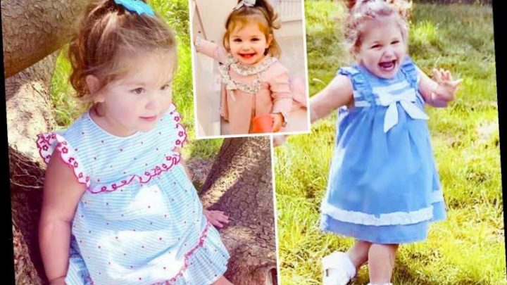 Toddler set to become Vogue magazine's youngest ever model aged just two