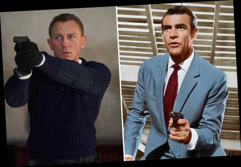 James Bond movies in order of release – from Dr. No to No Time To Die