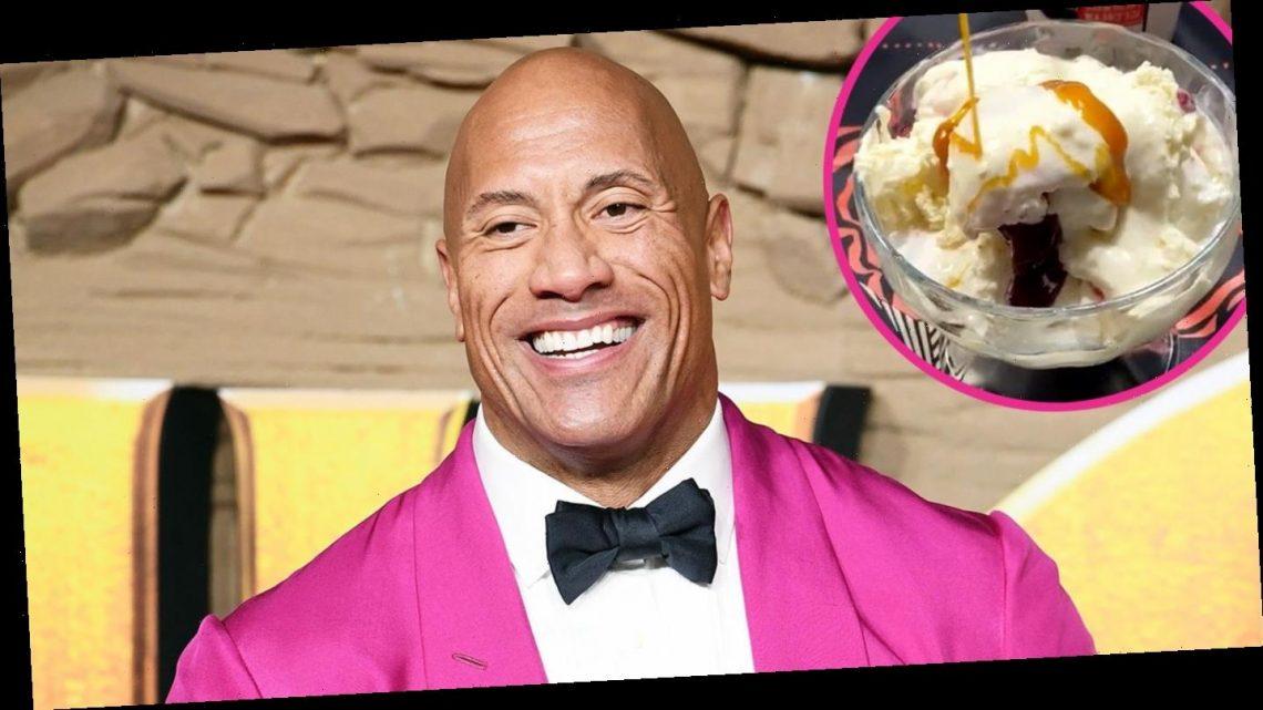 Dwayne Johnson's Massive Ice Cream Sundae Will 'Change Your Life'