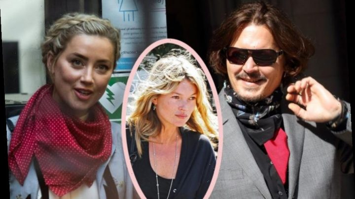 Johnny Depp 'Pushed Kate Moss Down The Stairs' Claims Amber Heard In Shocking Testimony