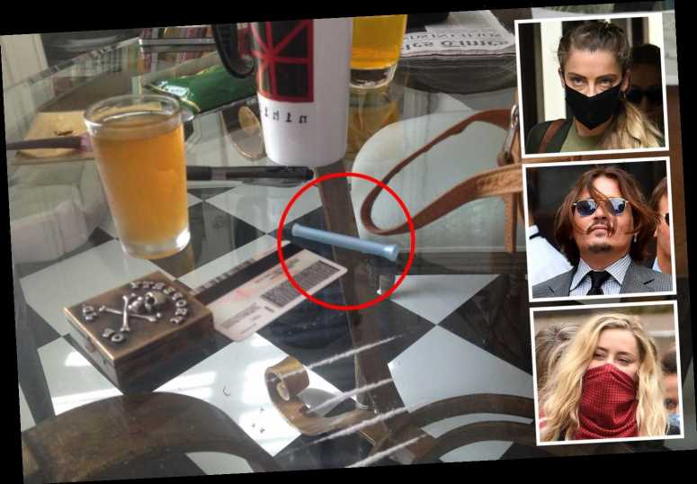 Johnny Depp 'fond of' using tampon applicator to snort cocaine, Amber Heard's sister claims