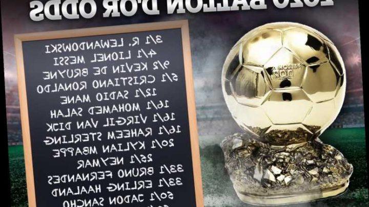 Lewandowski 3/1 favourite to win 2020 Ballon d'Or amid Lionel Messi and Cristiano Ronaldo dominance after record season
