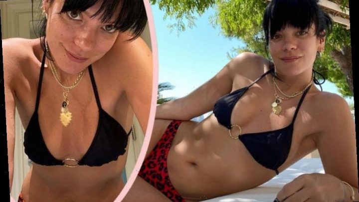 Lily Allen Celebrates 1 Year Sober With Healthy (And Sexy) Bikini Pics!