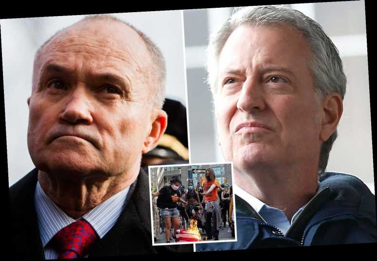 Ex-NYPD boss Ray Kelly blames Bill de Blasio for NYC crime and slams Dems for 'sitting on their hands' as statues fall – The Sun