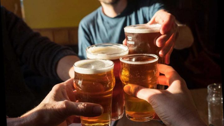 Brits down 7,786 pints of lager and 5,579 packets of crisps on average during lifetime