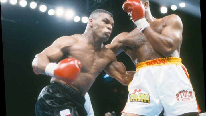 Mike Tyson reveals he would cry before every fight because he was 'getting ready to change into somebody I don't like'
