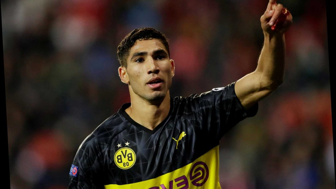 Real Madrid confirm Achraf Hakimi shock £40.5m transfer sale to Inter Milan after full-back's stunning Dortmund season