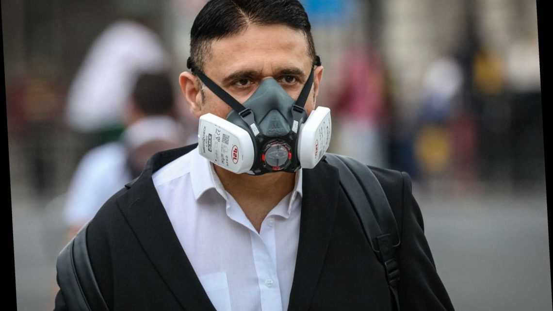 Who is exempt from wearing a face mask in the UK?