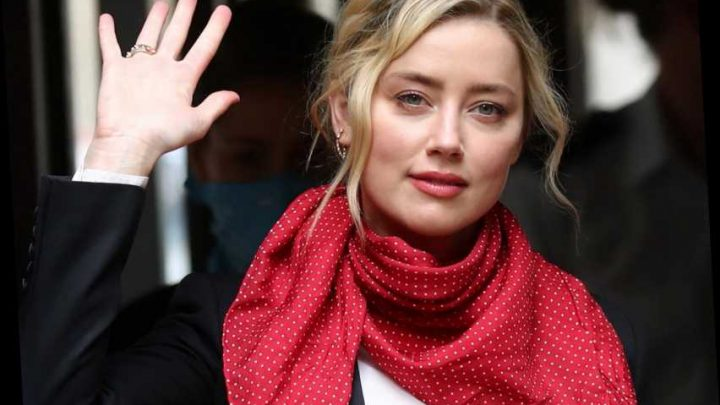 Amber Heard waves as last witnesses expected to give evidence in Johnny Depp High Court trial