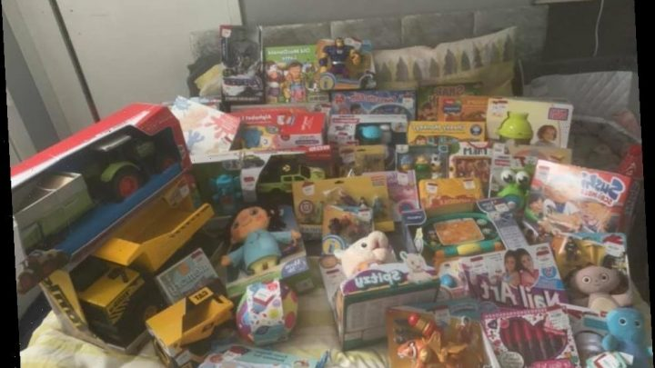 Mum shows off HUGE Debenhams kids' haul worth £700, with toys up to 70 per cent off