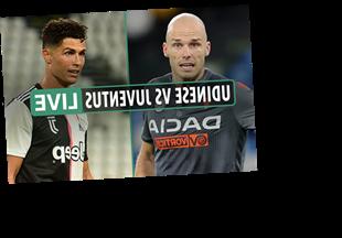 Udinese vs Juventus LIVE SCORE: Ronaldo close to opener as Juve target Serie A title – stream, TV info, latest updates – The Sun