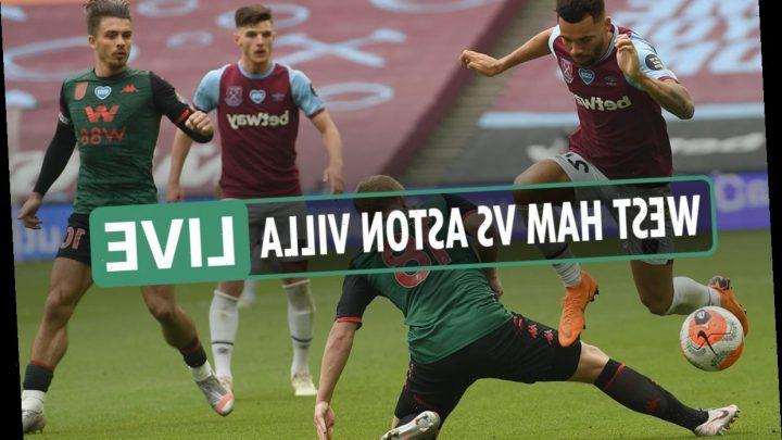 West Ham vs Aston Villa LIVE: Villa currently beating the drop despite Yarmolenko equaliser – The Sun