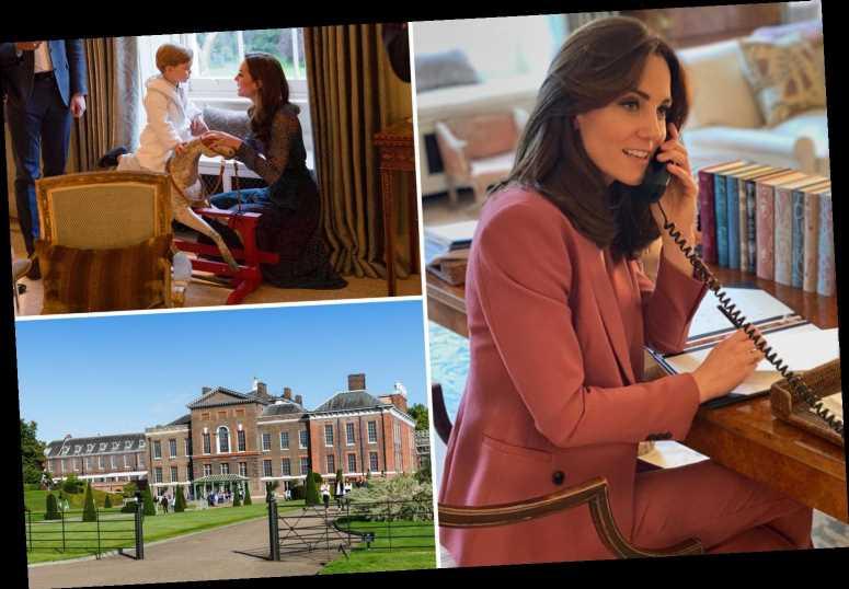 Inside Kate Middleton & Prince William's lavish house in Kensington palace with £900 lamps & £1.1k bespoke rocking horse