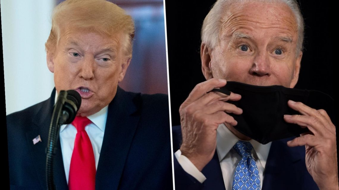 Trump trolls Biden by saying he 'cannot pass cognitive tests he aced'… and challenges ex-VP to 'give it a try' – The Sun