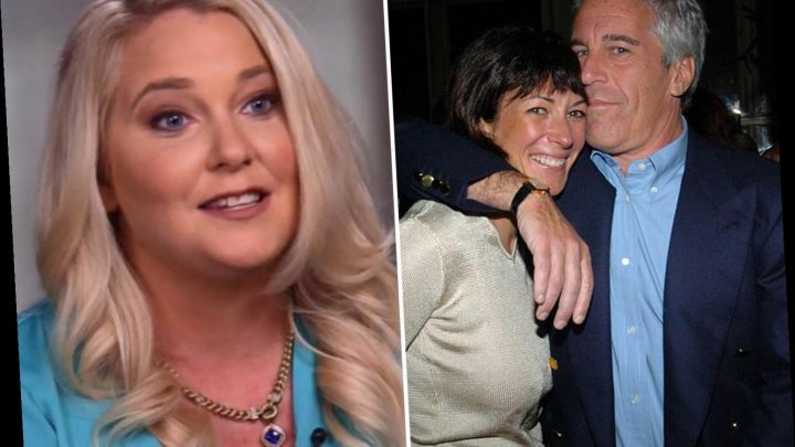 Ghislaine Maxwell 'told Virginia Roberts, 15, to strip before she was made to lick Epstein's nipples at first meeting'