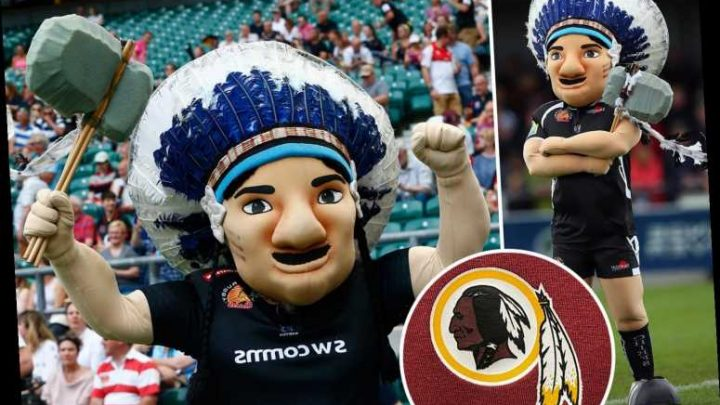 Exeter Chiefs under pressure to ditch controversial and 'racist' branding after Washington Redskins announce review – The Sun