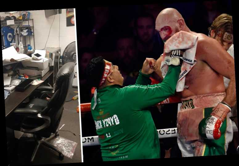 Tyson Fury's hero cut man Jorge Capetillo left devastated as gym is ransacked by thieves AND he contracts coronavirus