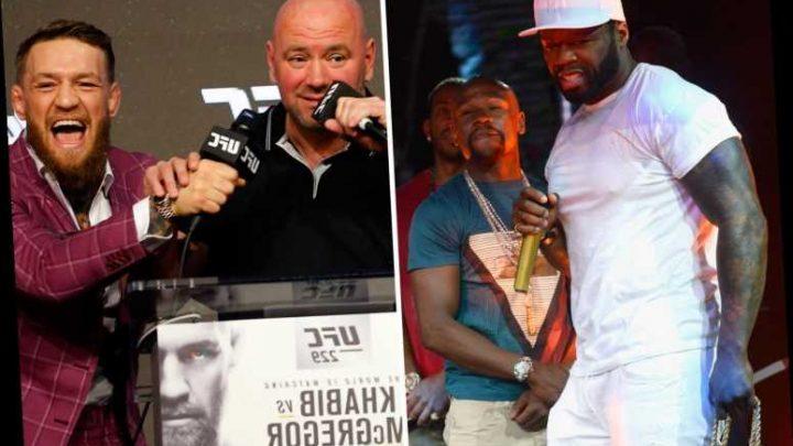 UFC boss Dana White reveals rapper 50 Cent kick-started negotiationsfor Conor McGregorto fight Mayweather – The Sun