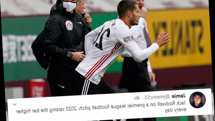 Twitter in meltdown after Jack Rodwell comes off the bench for Sheffield United as 2020 continues to amaze fans – The Sun