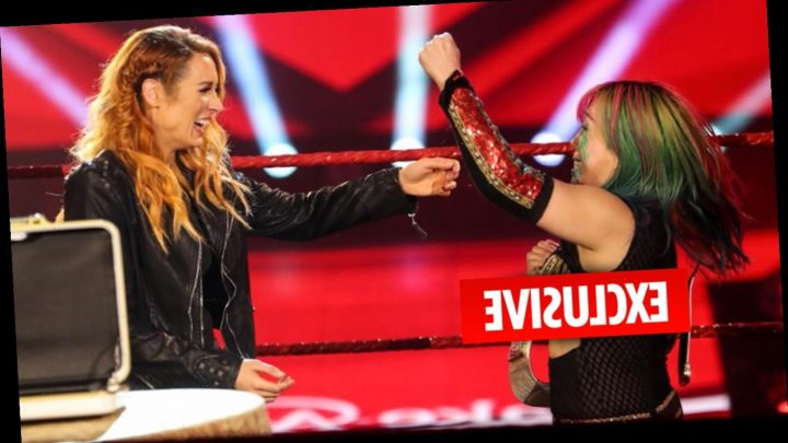 WWE Raw Women's Champion Asuka would love to face 'special opponent' Becky Lynch after her pregnancy