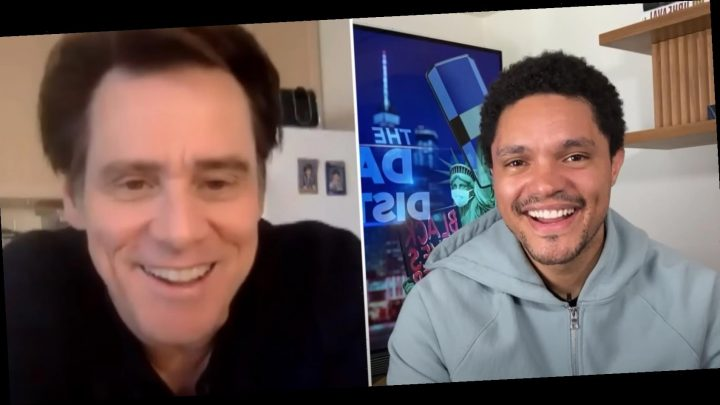 Jim Carrey Discusses New Book, Creating His Persona on 'The Daily Show'