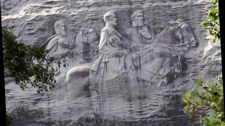 Controversial monument and KKK gathering spot reopens for Fourth of July
