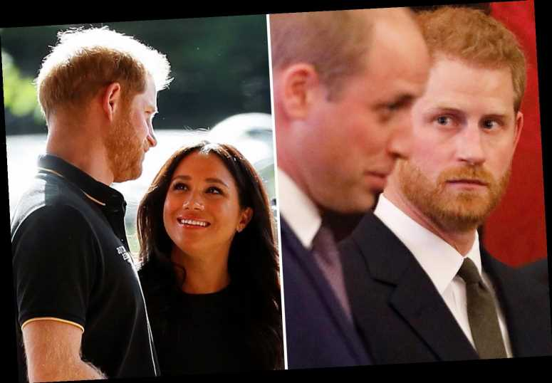 'Incredibly sensitive' Harry branded William a 'snob' for warning him to be careful about 'this girl' Meghan