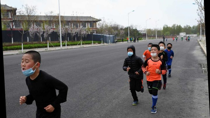 Two boys drop dead in China while wearing masks during gym class
