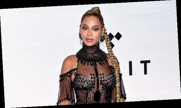 Beyonce Is Glowing With Natural Makeup & Her Hair In Braids For 'GMA' Appearance