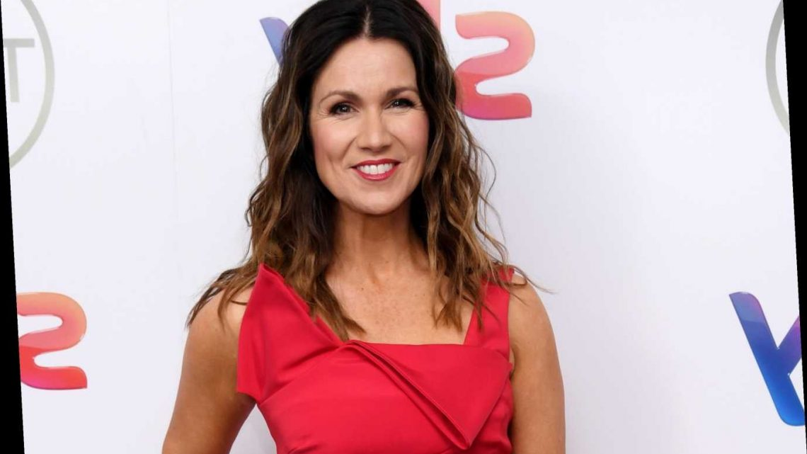 GMB's Susanna Reid reveals she's put on 10lbs during lockdown but says she's much happier
