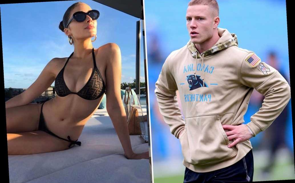 Christian McCaffrey celebrates 'queen' Olivia Culpo for SI Swimsuit cover