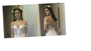 Palm Springs's Costume Designer Spills on Creating the Perfect Bohemian Bridal Look For Camila Mendes
